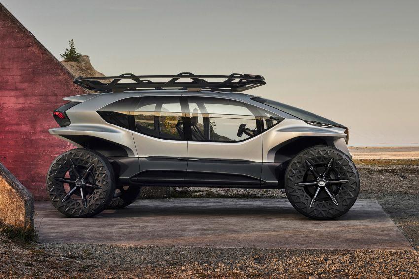 Audi AI:Trail quattro concept – off-road EV previewed Image #1013922