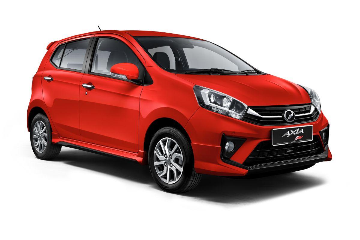 Perodua Axia facelift 2019 dilancarkan - varian baharu