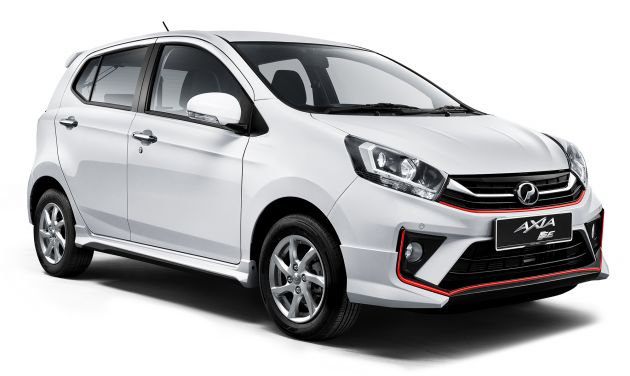 2019 Perodua Axia launched - 6 variants, new SUV-inspired