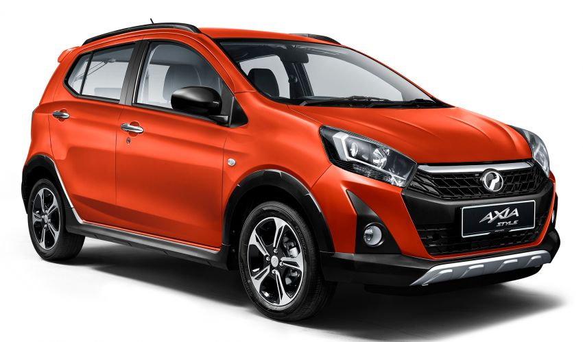 2019 Perodua Axia launched – 6 variants, new SUV-inspired 'Style' model, VSC and ASA, RM24k to RM43k Image #1018063