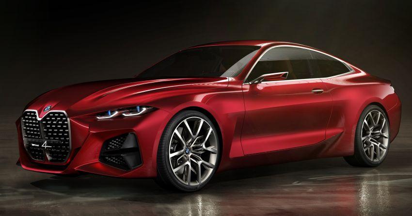 BMW Concept 4 – petunjuk coupe sporty masa depan Image #1013577