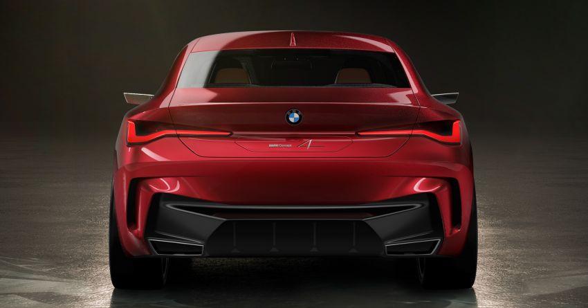 BMW Concept 4 – petunjuk coupe sporty masa depan Image #1013582