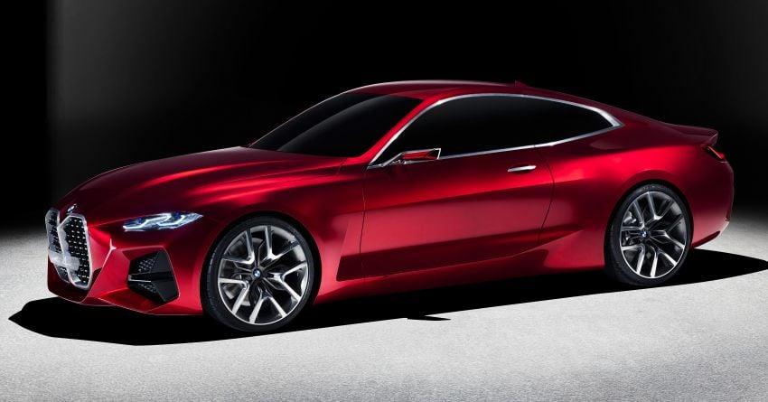 BMW Concept 4 – petunjuk coupe sporty masa depan Image #1013550