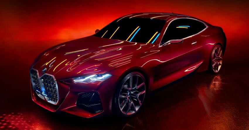 BMW Concept 4 – petunjuk coupe sporty masa depan Image #1013589