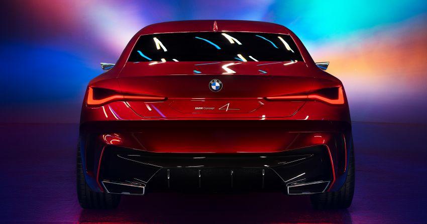 BMW Concept 4 – petunjuk coupe sporty masa depan Image #1013599