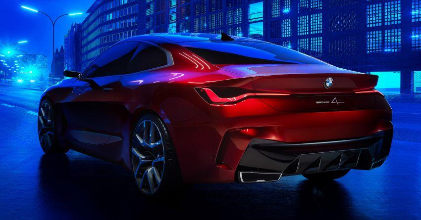 BMW Concept 4 – petunjuk coupe sporty masa depan Image #1013600