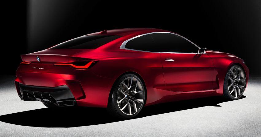 BMW Concept 4 – petunjuk coupe sporty masa depan Image #1013552