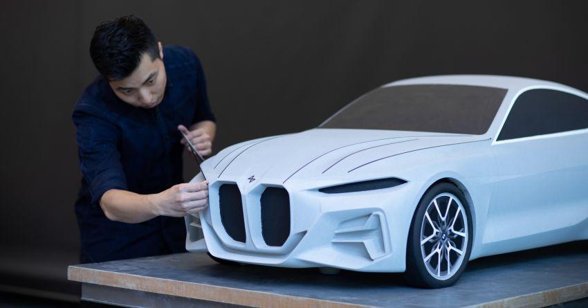BMW Concept 4 – petunjuk coupe sporty masa depan Image #1013625