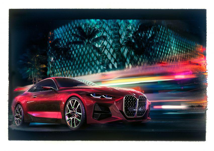 BMW Concept 4 – petunjuk coupe sporty masa depan Image #1013643