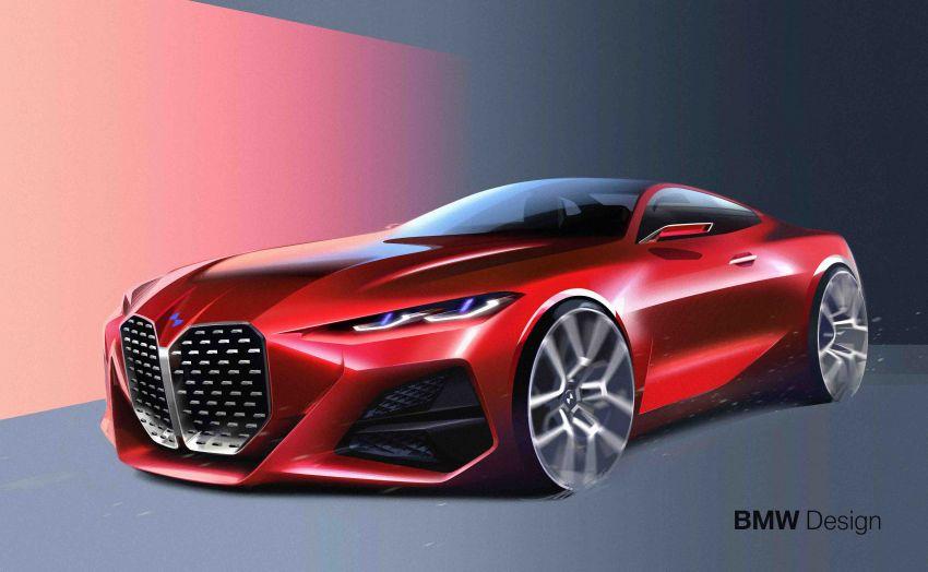 BMW Concept 4 – petunjuk coupe sporty masa depan Image #1013649