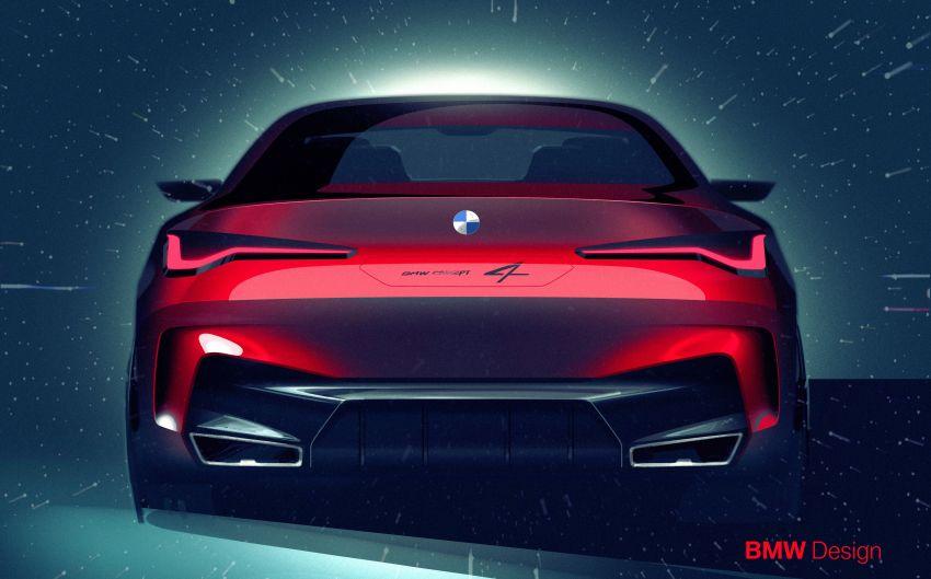 BMW Concept 4 – petunjuk coupe sporty masa depan Image #1013654