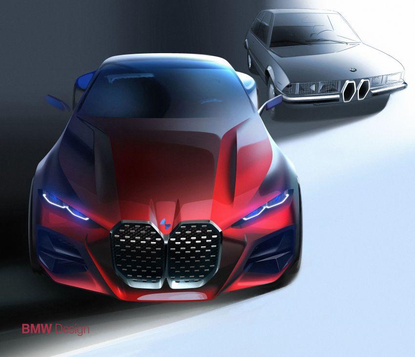 BMW Concept 4 – petunjuk coupe sporty masa depan Image #1013655