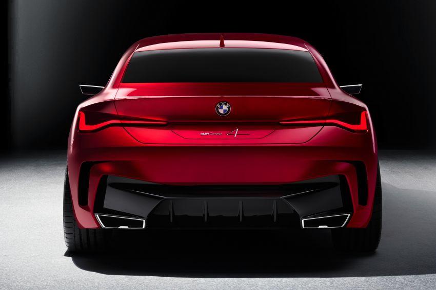 BMW Concept 4 – petunjuk coupe sporty masa depan Image #1013557