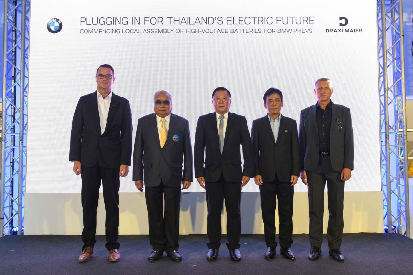 BMW Group Thailand commences local assembly of high-voltage batteries for plug-in hybrid models Image #1014753