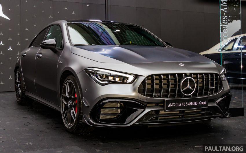 GALLERY: W177 Mercedes-AMG A45S, C118 CLA45S Image #1021644