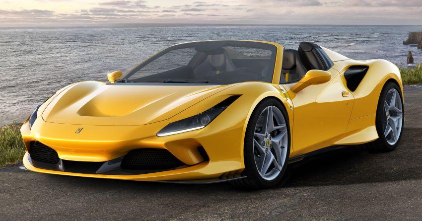 Ferrari F8 Spider – enjin V8 turbo 3.9L, 720 PS, 770 Nm Image #1012270
