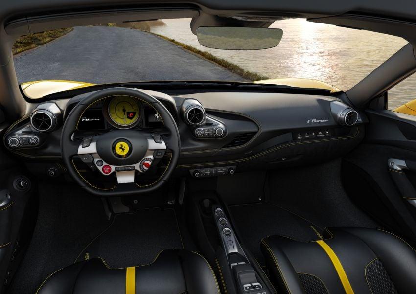 Ferrari F8 Spider – enjin V8 turbo 3.9L, 720 PS, 770 Nm Image #1012276