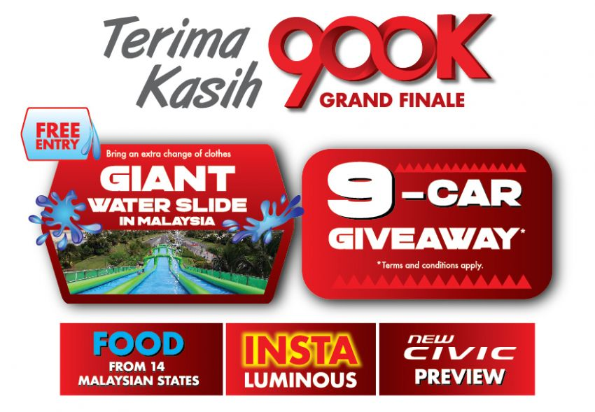 Honda Road to 900k campaign – second winner announced, grand finale on Sept 28-29 at Bukit Jalil Image #1016555