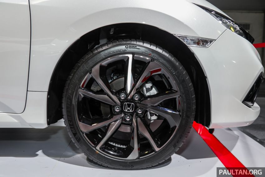 Honda Civic facelift previewed in Malaysia – now with Honda Sensing, boot spoiler and 18-inch alloy wheels Image #1022938