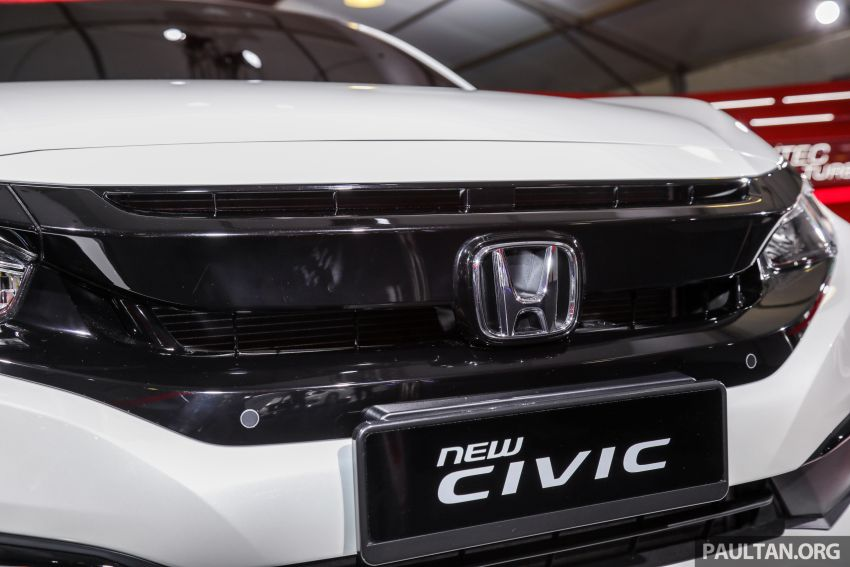 Honda Civic facelift previewed in Malaysia – now with Honda Sensing, boot spoiler and 18-inch alloy wheels Image #1022931