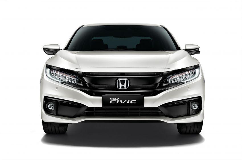 Honda Civic facelift 2019 – tempahan kini dibuka, terima Honda Sensing, dilancar suku ke-4 tahun ini Image #1012345