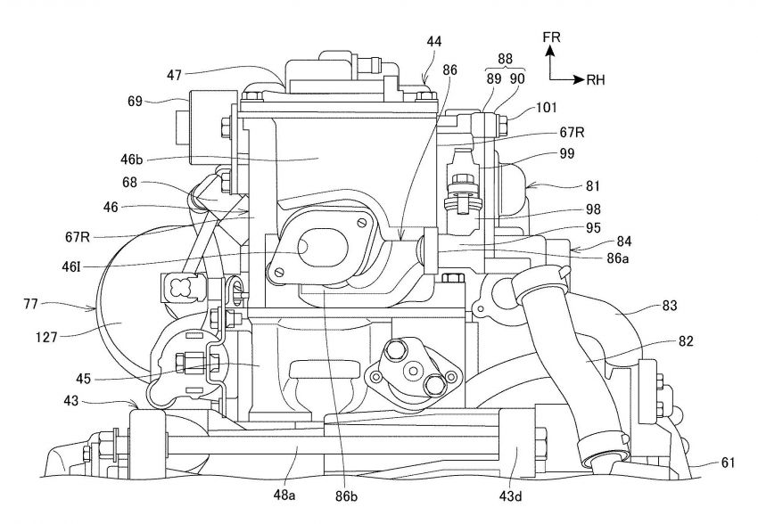 Honda PCX scooter to use four-valves and VTEC? Image #1014876