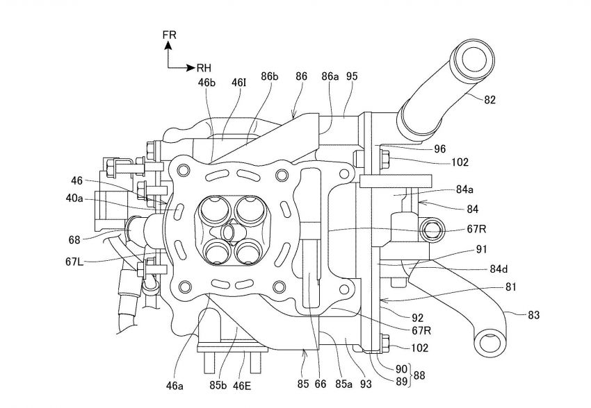 Honda PCX scooter to use four-valves and VTEC? Image #1014878