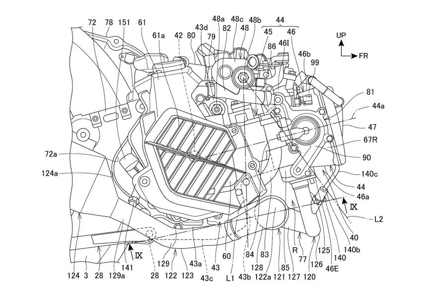 Honda PCX scooter to use four-valves and VTEC? Image #1014879