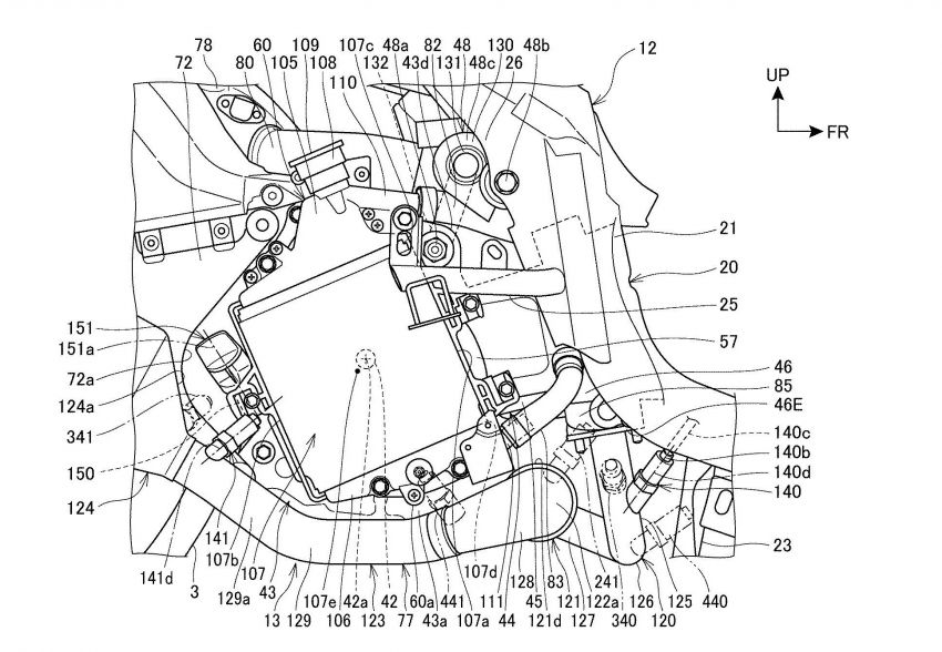Honda PCX scooter to use four-valves and VTEC? Image #1014880