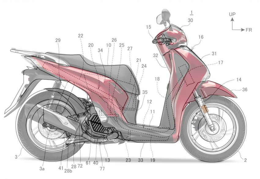 Honda PCX bakal dilengkapi empat injap dan VTEC? Image #1014334