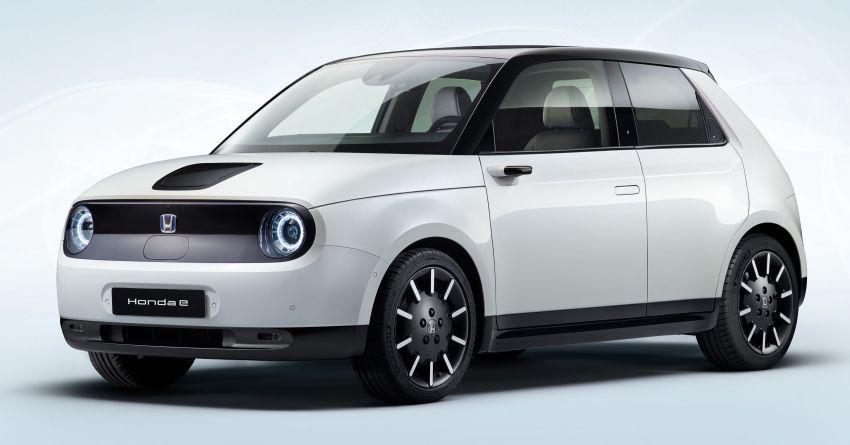 Honda e – versi produksi sebenar didedah; kereta elektrik 154 PS/315 Nm, pacuan roda belakang Image #1011156