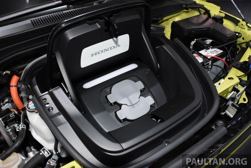 Honda e pengeluaran sebenar muncul di Frankfurt – dua janaan output, harga dari RM136k di Jerman Image #1014251