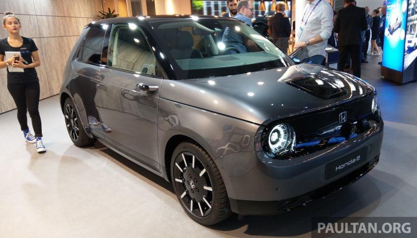 Honda e pengeluaran sebenar muncul di Frankfurt – dua janaan output, harga dari RM136k di Jerman Image #1014240