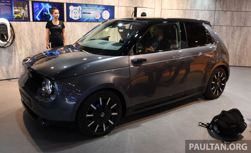 Honda e on display at the 2019 Frankfurt Motor Show – two outputs; priced from RM136,108 in Germany Image #1013861