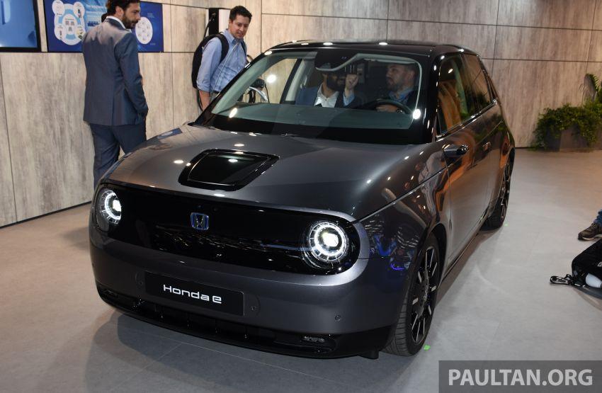 Honda e pengeluaran sebenar muncul di Frankfurt – dua janaan output, harga dari RM136k di Jerman Image #1014242
