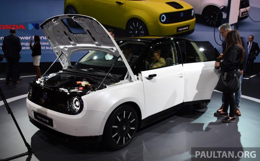 Honda e pengeluaran sebenar muncul di Frankfurt – dua janaan output, harga dari RM136k di Jerman Image #1014245