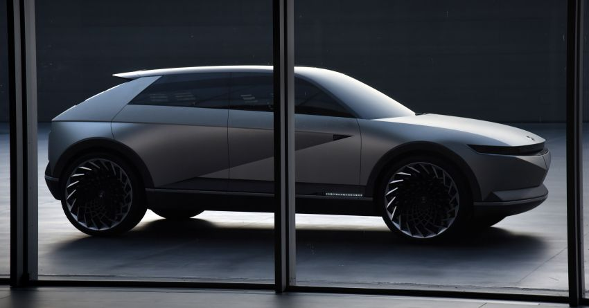 Hyundai 45 EV Concept unveiled at the Frankfurt show Image #1013614