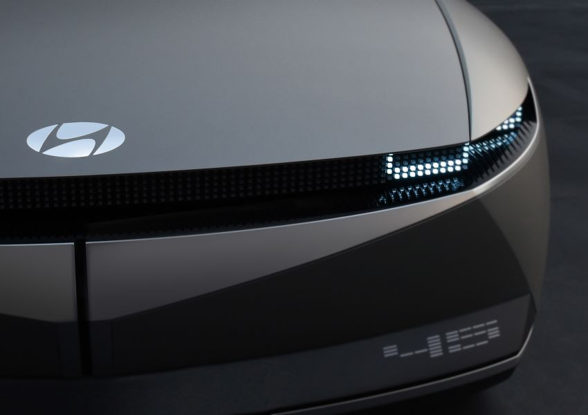 Hyundai 45 EV Concept unveiled at the Frankfurt show Image #1013626