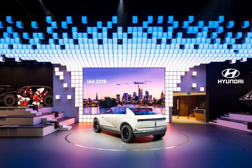 Hyundai 45 EV Concept unveiled at the Frankfurt show Image #1013635