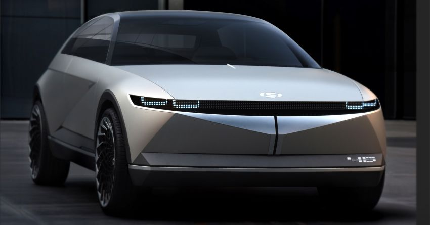 Hyundai 45 EV Concept unveiled at the Frankfurt show Image #1013595