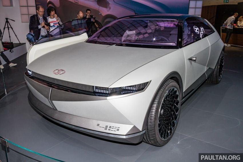 Hyundai 45 EV Concept unveiled at the Frankfurt show Image #1014536