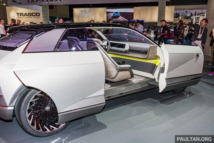 Hyundai 45 EV Concept unveiled at the Frankfurt show Image #1014548