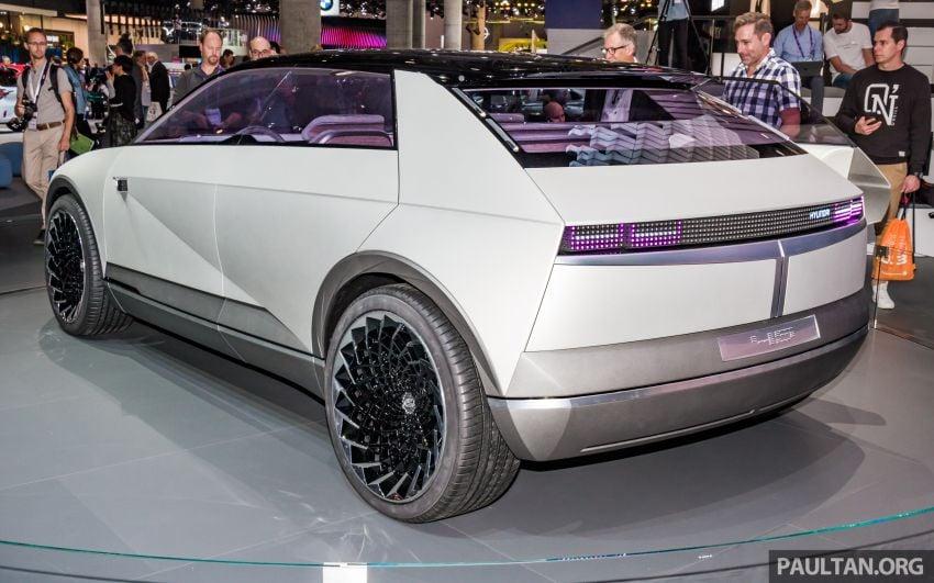 Hyundai 45 EV Concept unveiled at the Frankfurt show Image #1014537
