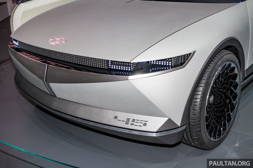 Hyundai 45 EV Concept unveiled at the Frankfurt show Image #1014540