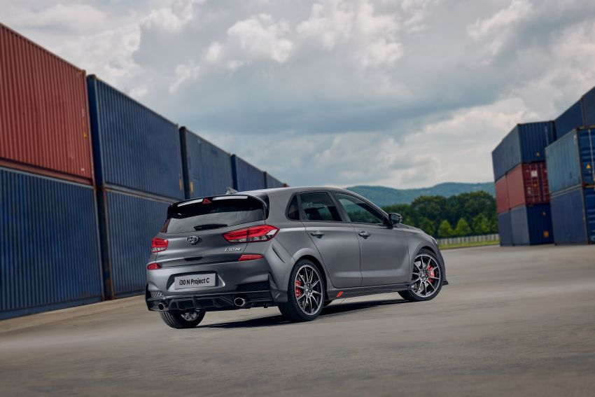 Hyundai i30 N Project C – hardcore LE dripping in CF Image #1013383