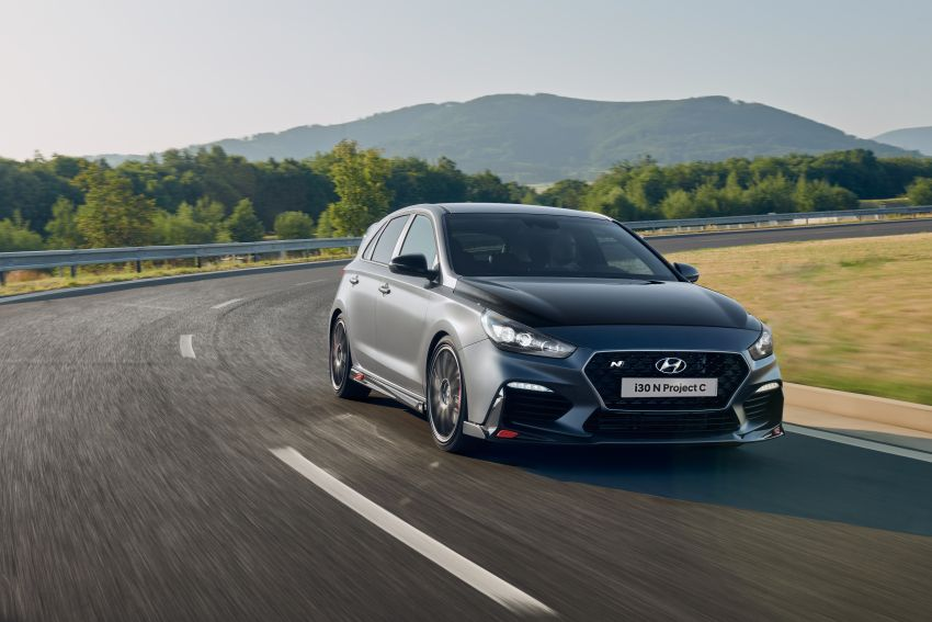 Hyundai i30 N Project C – hardcore LE dripping in CF Image #1013446