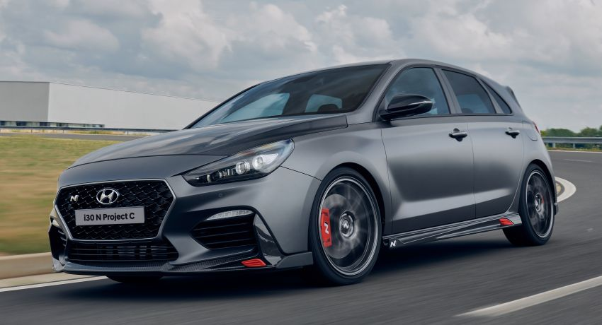 Hyundai i30 N Project C – hardcore LE dripping in CF Image #1013360