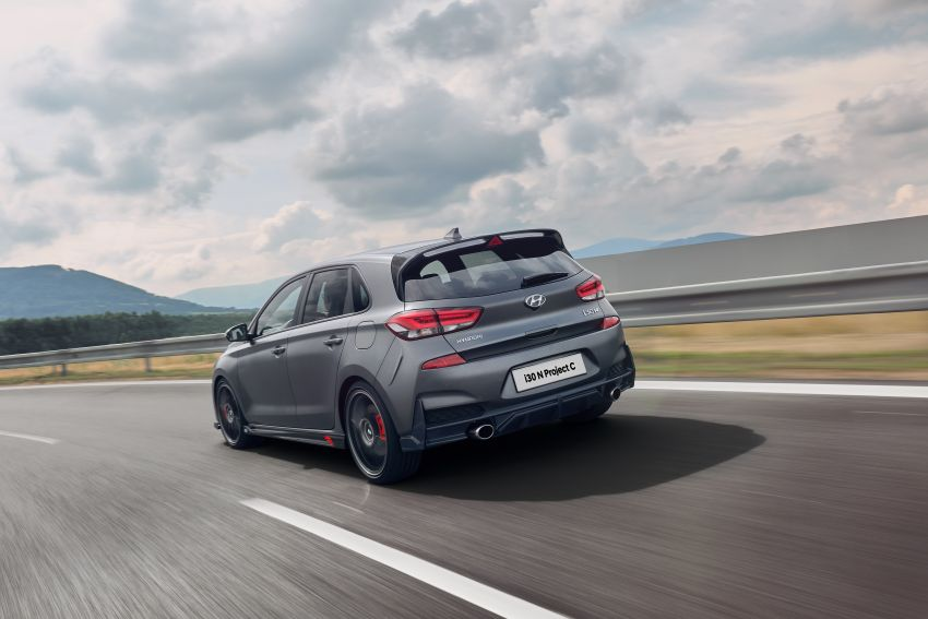 Hyundai i30 N Project C – hardcore LE dripping in CF Image #1013361