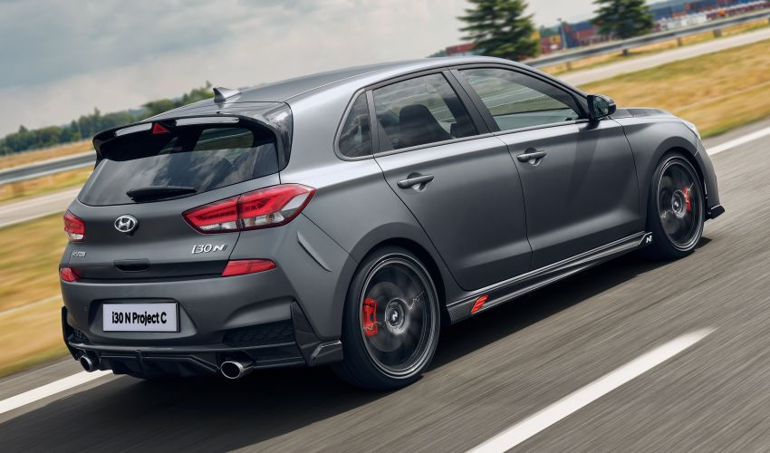 Hyundai i30 N Project C – hardcore LE dripping in CF Image #1013362
