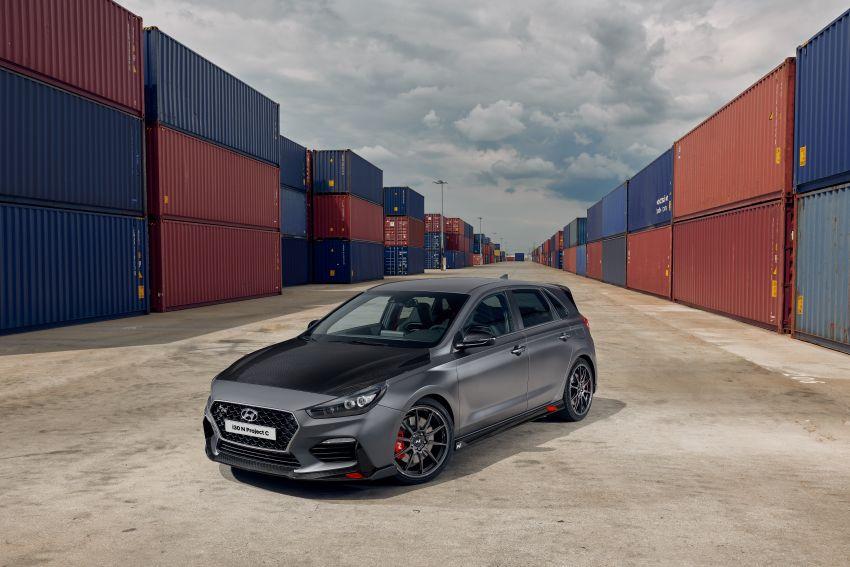 Hyundai i30N Project C – edisi terhad lebih <em>hardcore</em>; banyak komponen karbon, suspensi ditala semula Image #1014186